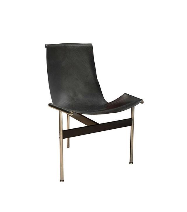 Katavolos Black Leather T-Chair