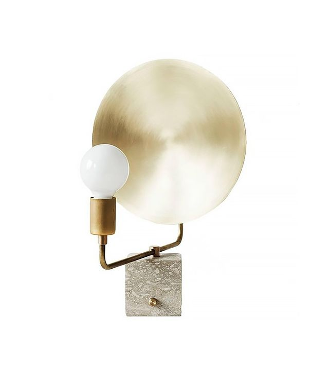 Brass Reflector Table Lamp
