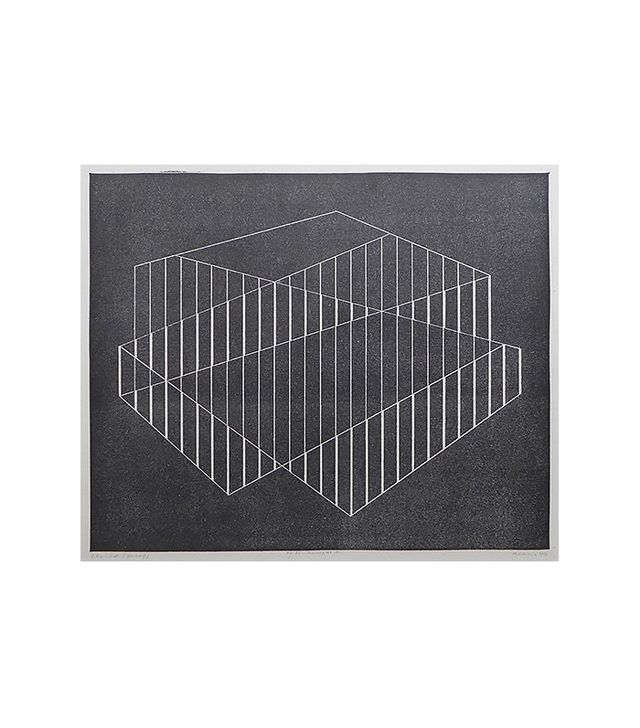 """Fenced"" by Josef Albers"