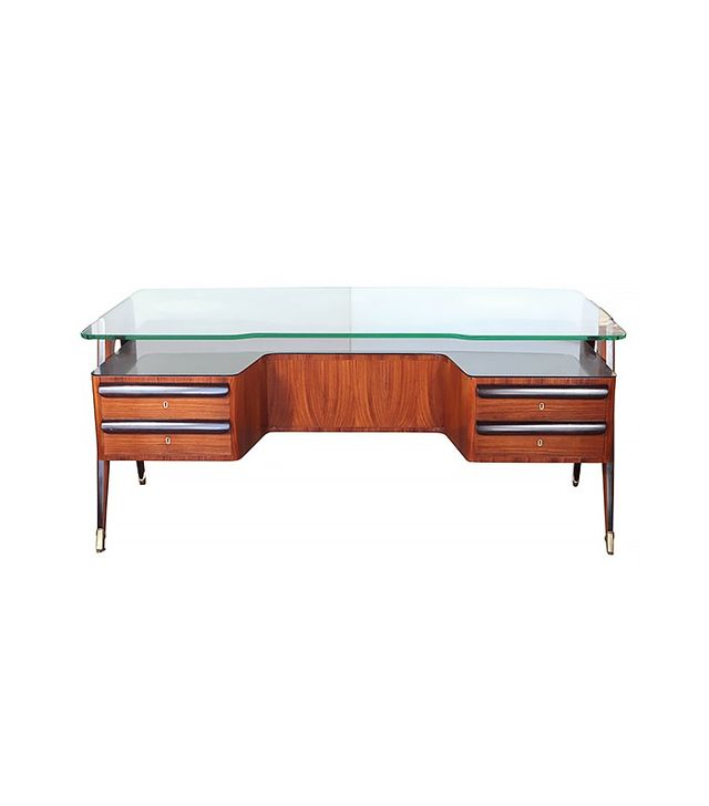 Paolo Buffa Mid Century Rosewood Desk