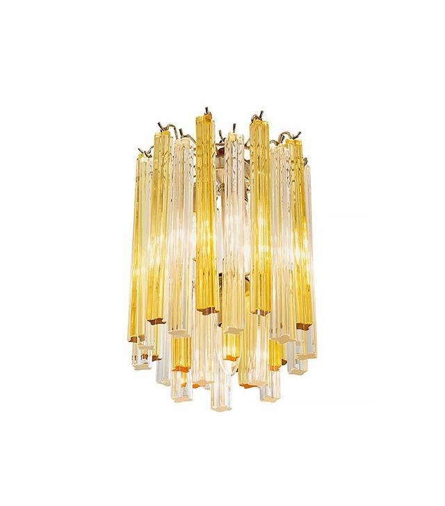 Vintage 1960s Murano Glass Chandelier