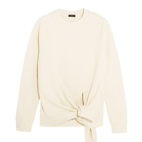 Knot Cotton Jersey Sweatshirt