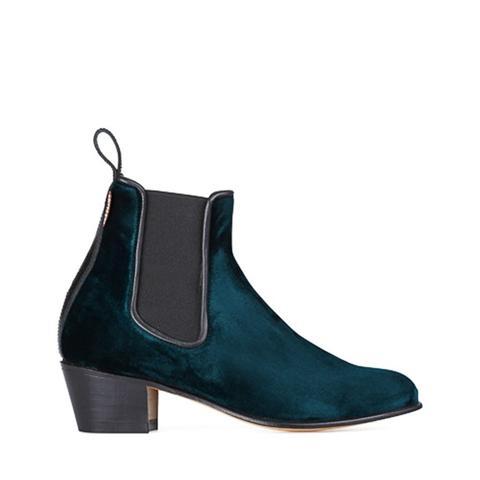 Cubana Velvet Boots