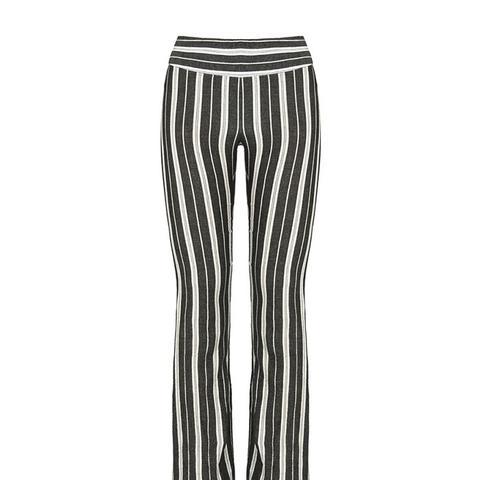 Grey Stripe Trousers