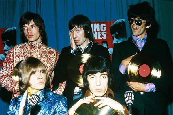 Where to begin? We'll start with Mr. Jagger's paisley top, please.