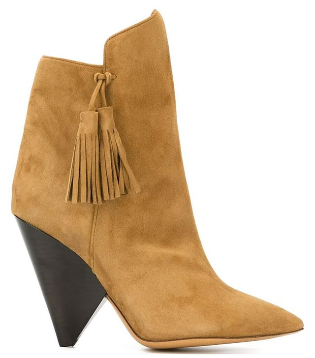 Isabel Marant Leyton Suede Ankle Boots