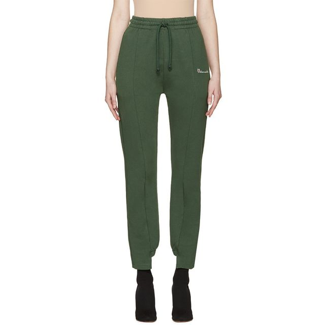 Vetements Green Logo Lounge Pants