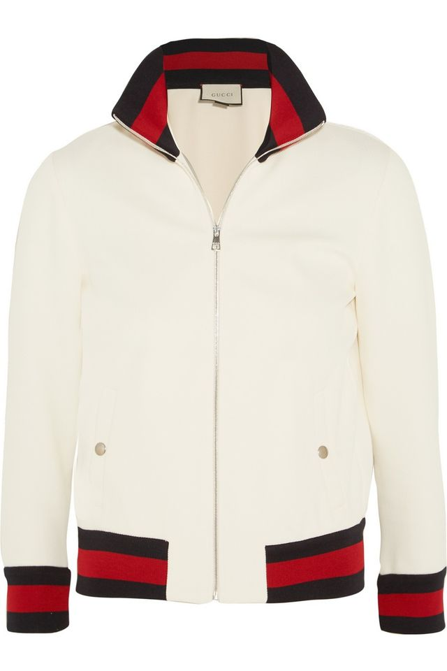 Gucci Twill Bomber Jacket