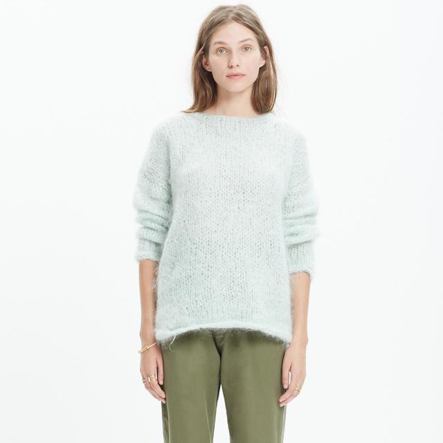 Madewell Handknit Cloudloft Sweater