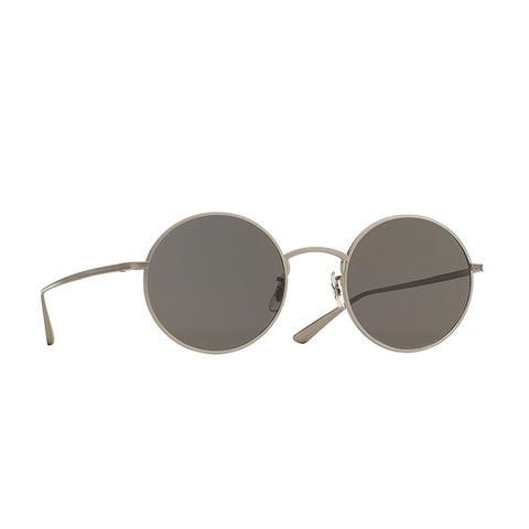 After Midnight Round Sunglasses