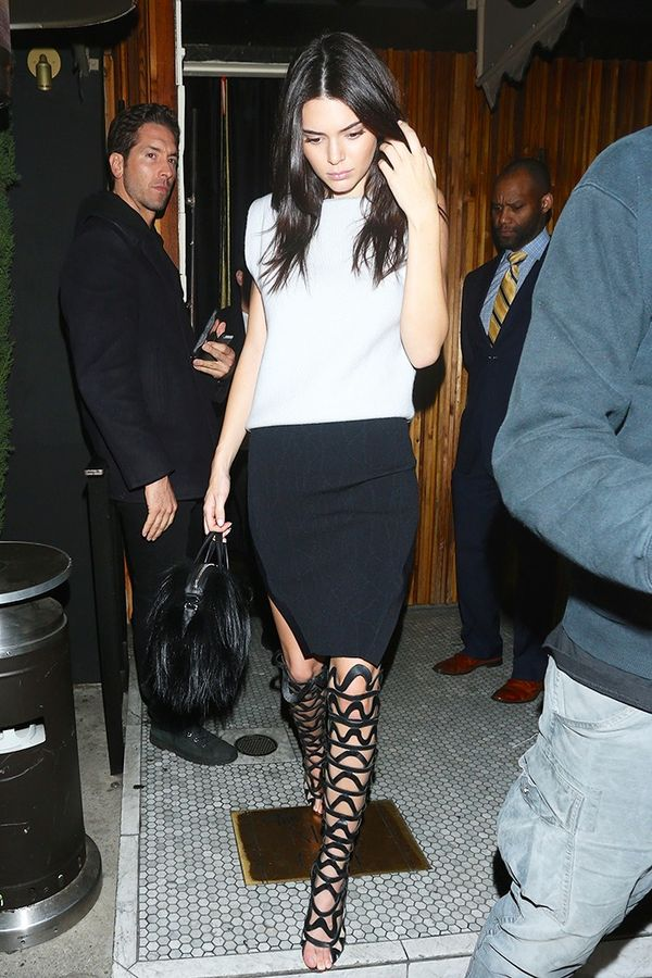 Strappy Sandals—Kendall Jenner