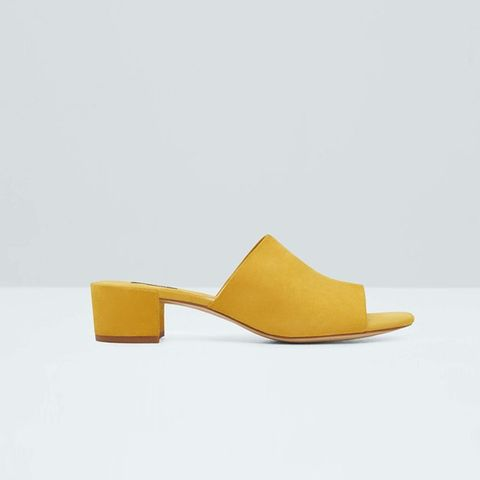 Restructured Leather Sandals