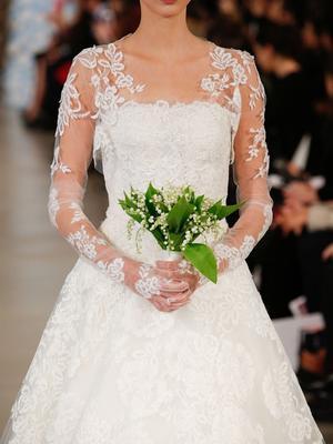 You Need to See Barbie in an Oscar de la Renta Wedding Dress