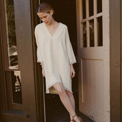 Roman Silk Noil Dress