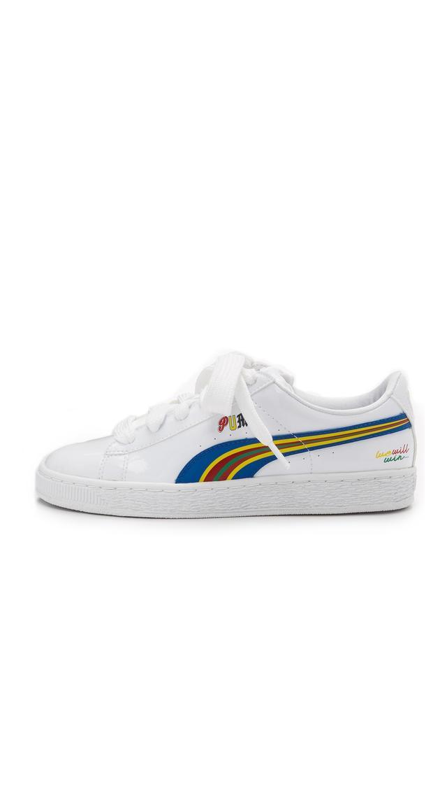 Puma x Dee & Ricky Basket Sneakers