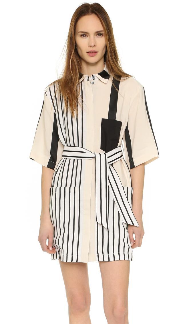 Acne Studios Cabell Stripe Dress