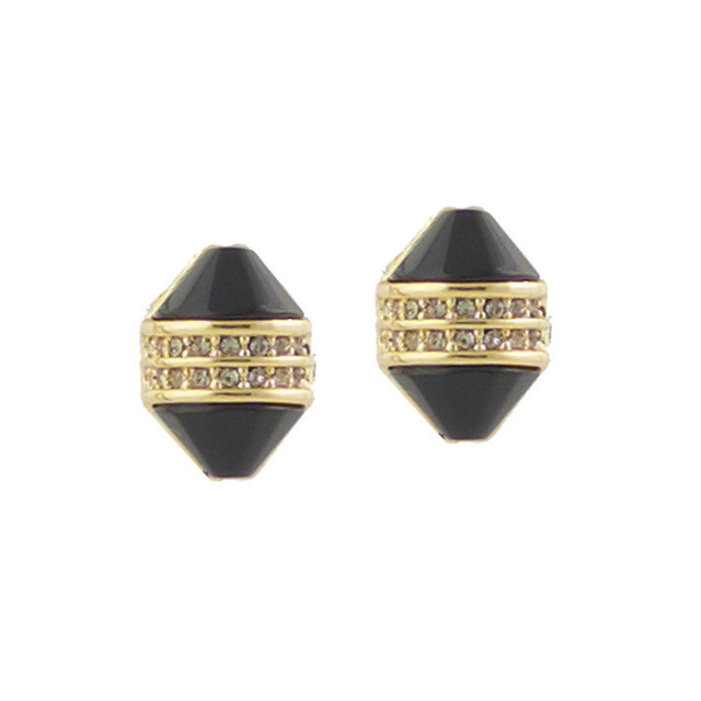 House of Harlow Corona Crystal Stud Earrings