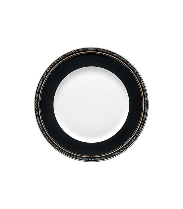 Vera Wang Wedgwood With Love Noir Dinner Plate