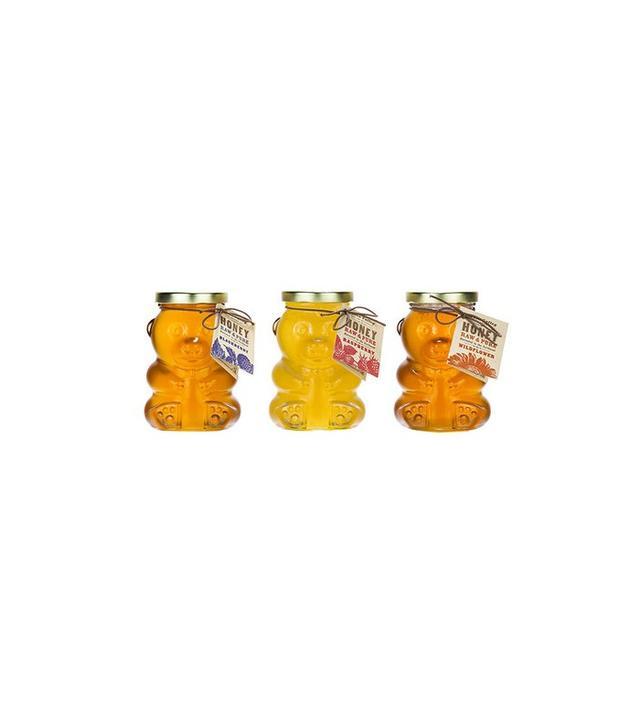 Moon Valley Organics Adorable Glass Honey Bear
