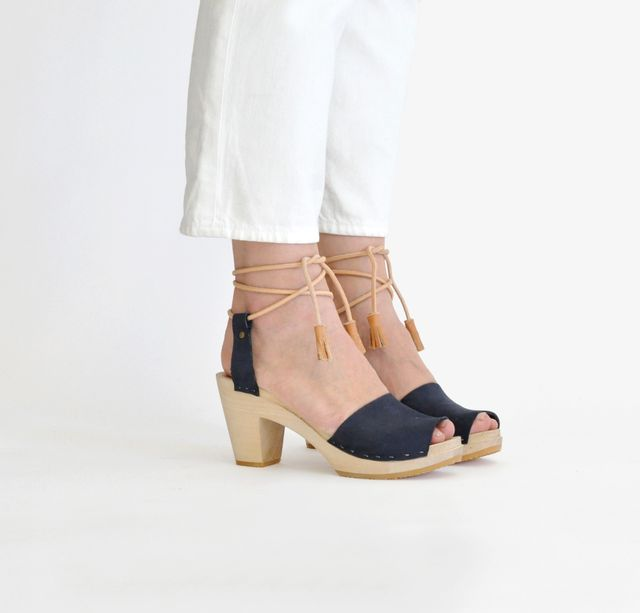Bryr Annabelle Spanish Toe Sandals With Tassels