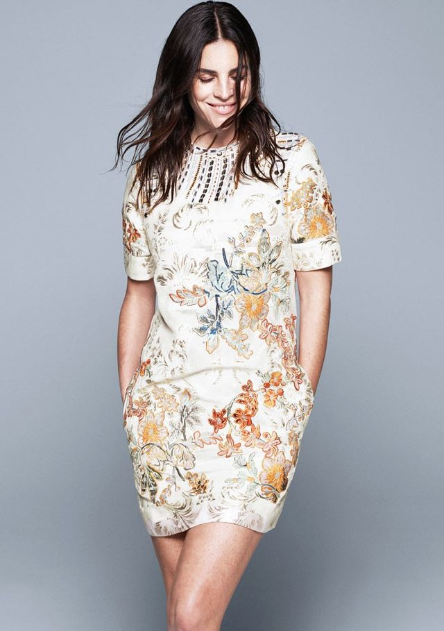 H&M Conscious Collection Embroidered Geisha Dress (£119)