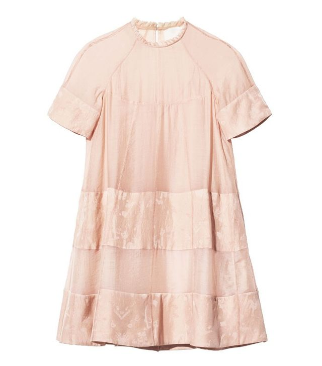 H&M Conscious Collection A-Line Lycocell-Blend Dress