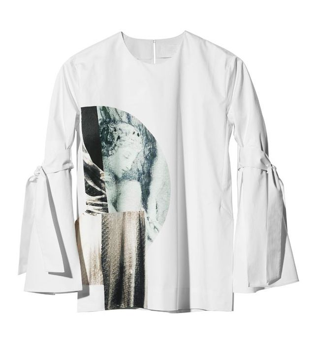 H&M Conscious Collection Printed Blouse