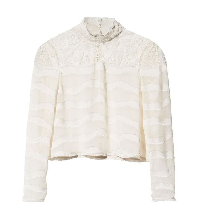 H&M Conscious Collection Lace Blouse