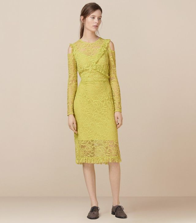 Finery London Amplified Lace Dress