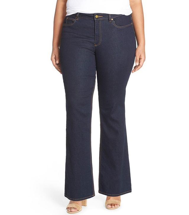 Two by Vince Camuto Super Stretch Flare Leg Jeans