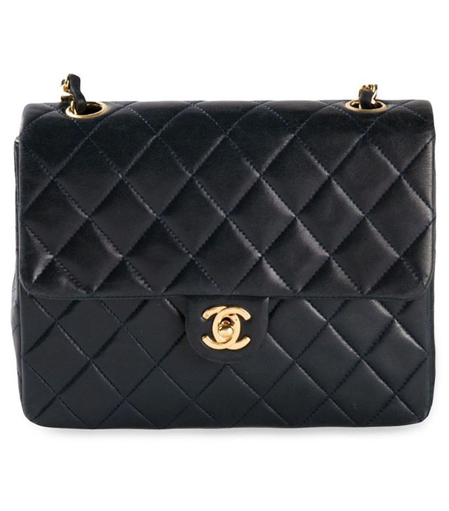 Chanel Vintage Mini Quilted Flap Bag