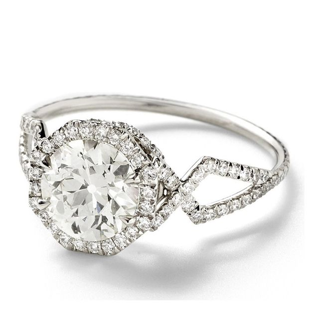 Monique Péan Vintage 1.98 Carat Engagement Ring