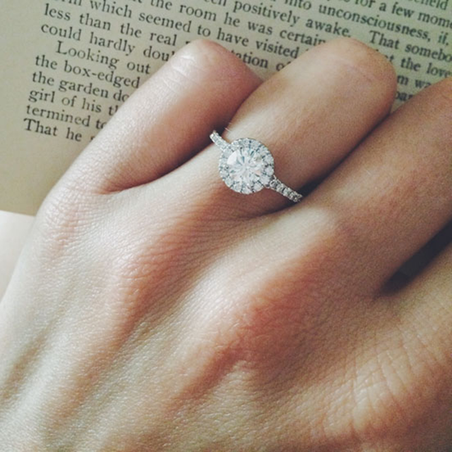 What's an Acceptable Color Grade for a Diamond Engagement Ring?