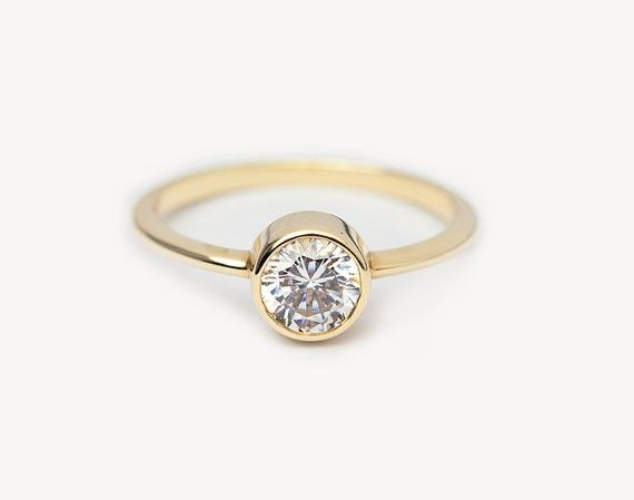 Capuccine .50 Carat Engagement Ring