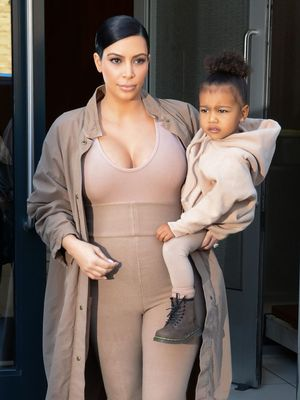 North West and Kim Kardashian's Matching Ski Outfits Are Adorable