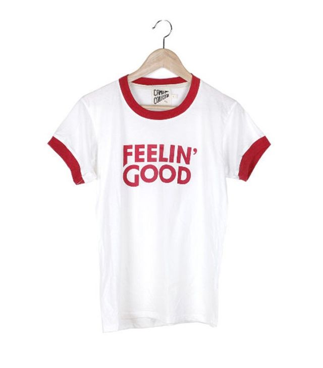 CAMP Collection Feelin' Good Ringer Tee