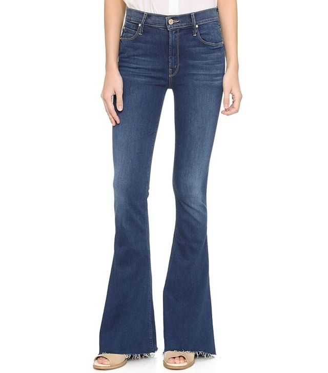 Mother Denim The Castaway Fray Jeans