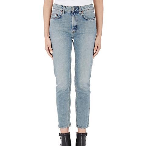 Crop Patti Skinny Jeans