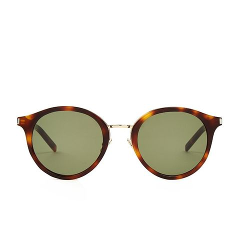 Round Frame Acetate Sunglasses