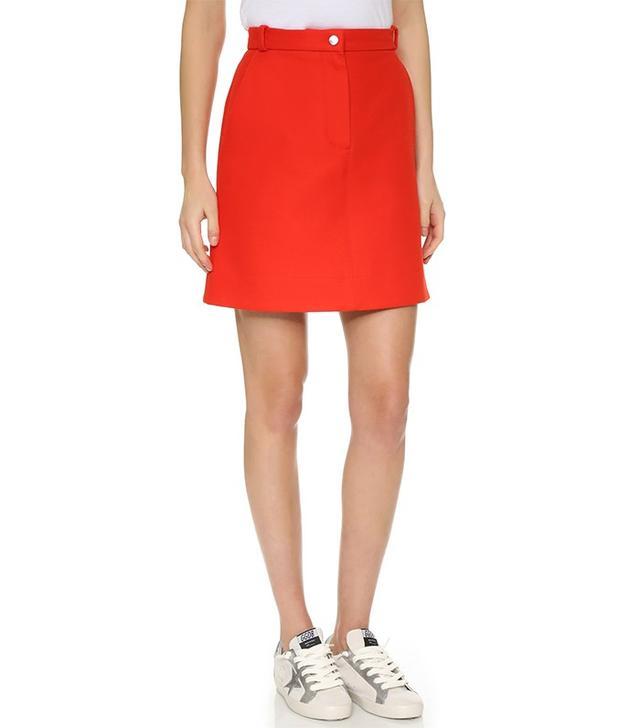 Carven A Line Skirt