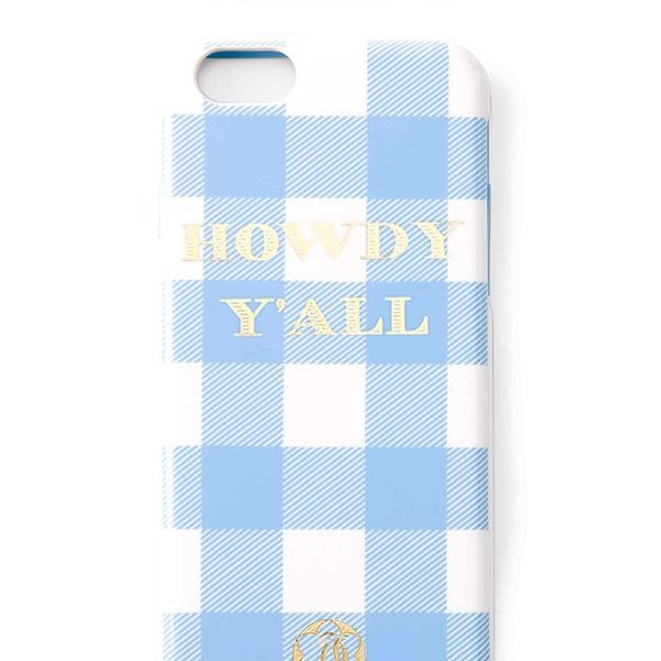 Draper James Howdy Y'All iPhone 6 Case