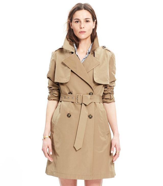 Madewell Parcel Trench Coat