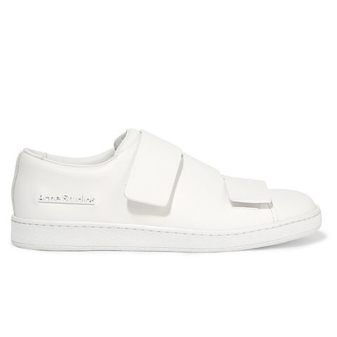 Triple Leather Sneakers