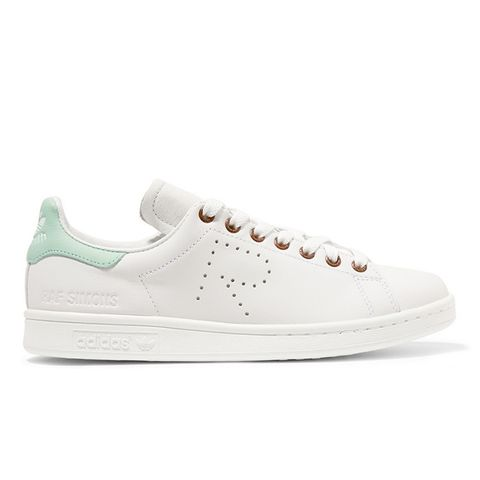 Stan Smith Perforated Leather Sneakers