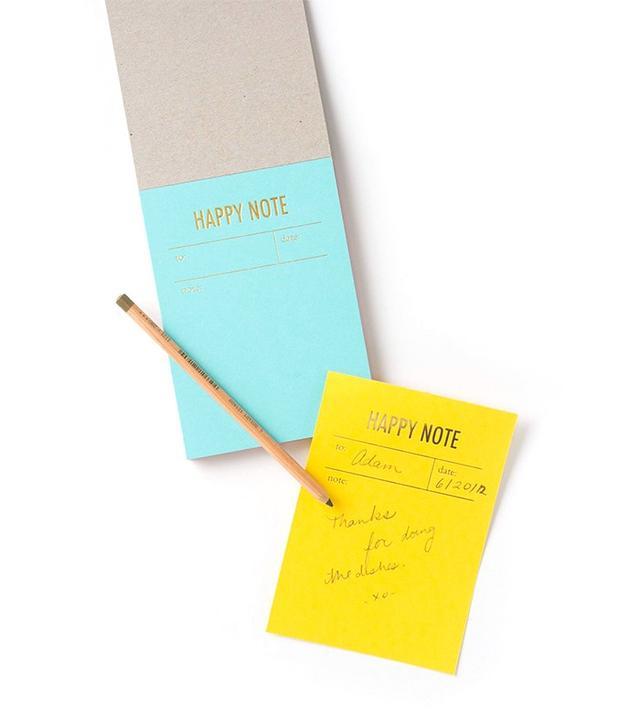 Anthropologie Letterpress Notepad