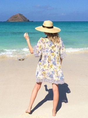The Perfect Vacation Dress, According to Kate Bosworth