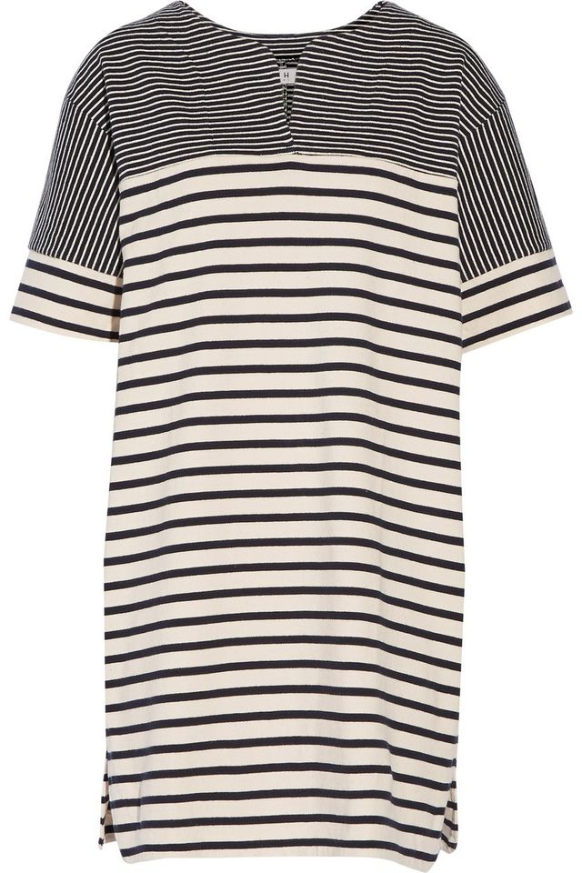 M.i.h Jeans Bretonic Striped Cotton-Jersey Mini Dress