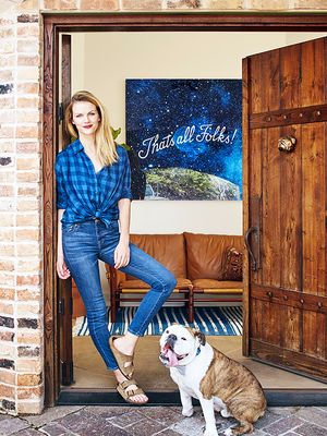 Brooklyn Decker's Eclectic Texas Home Turns On the Southern Charm