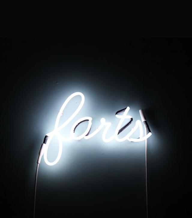 GeometricFolk Farts Neon Sign