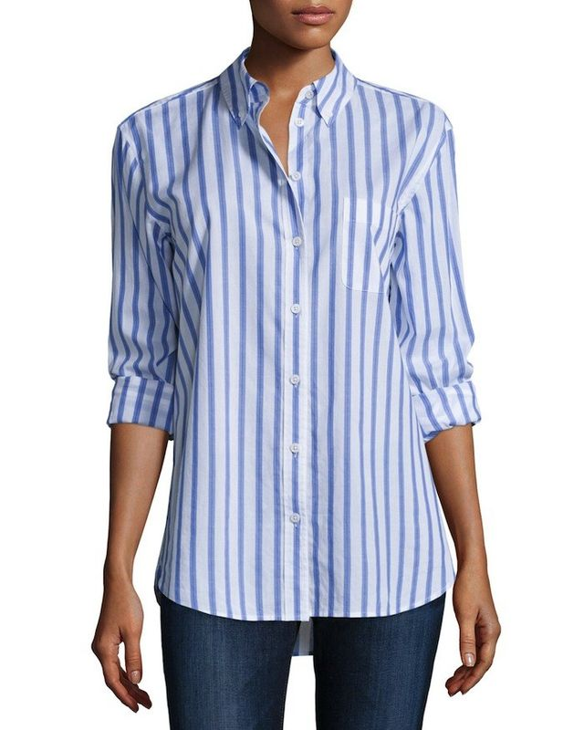 Equipment Margaux Button-Front Shirt